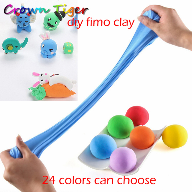 aliexpress com buy air dry fluffy slime polymer clay modeling clay