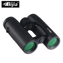 BIJIA 10X32 Compact Binoculars for Bird Watching HD Military Telescope for Hunting and Travel High Clear Vision Black