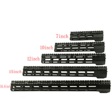 High Quality Tactical Picatinny Rail Mount System 7'' 10'' 12'' 15'' 16.6 '' M-lok Style Handguard Rail Hunting Accessories