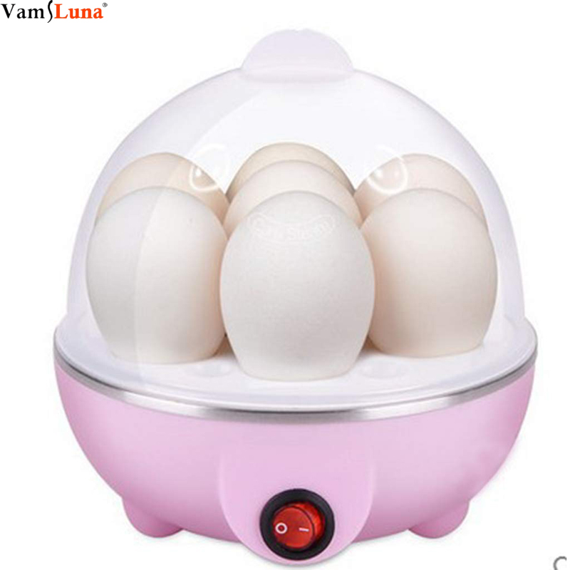 Electric Egg Cooker, Omelet, Scrambled, Soft, Medium, Hard-Boiled Boiler Cooker With Auto Shut-Off And Buzzer, Measuring Cup In