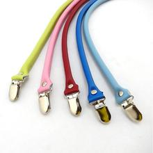 2PCS Bag Straps Genuine Leather DIY Handmade Handles Duck Tongue Replacement Strap for Crossbody Shoulder Handbag Handle 55cm