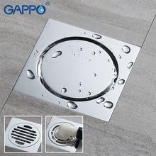 GAPPO drenaj kare zemin drenaj banyo zemin kaplama duş odası tahliye banyo zemin duş drenaj filtresi