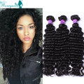 3 Pcs Cheap Curly Weave Human Hair 4 Pcs Virgin Indian Deep Curly Hair Raw Indian Virgin Hair Deep Wave Curly Rosa Hair Products