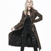 Новинка 2017 года Панк рейв моды готический Повседневное Для женщин пальто куртка новинка довольно Y548