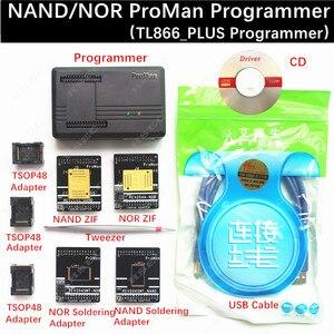 Image 1 - XGecu ProMan Professional  nand flash programmer/NAND NOR TSOP48 FLASH programmer TL866 PLUS programmer /high programming speed