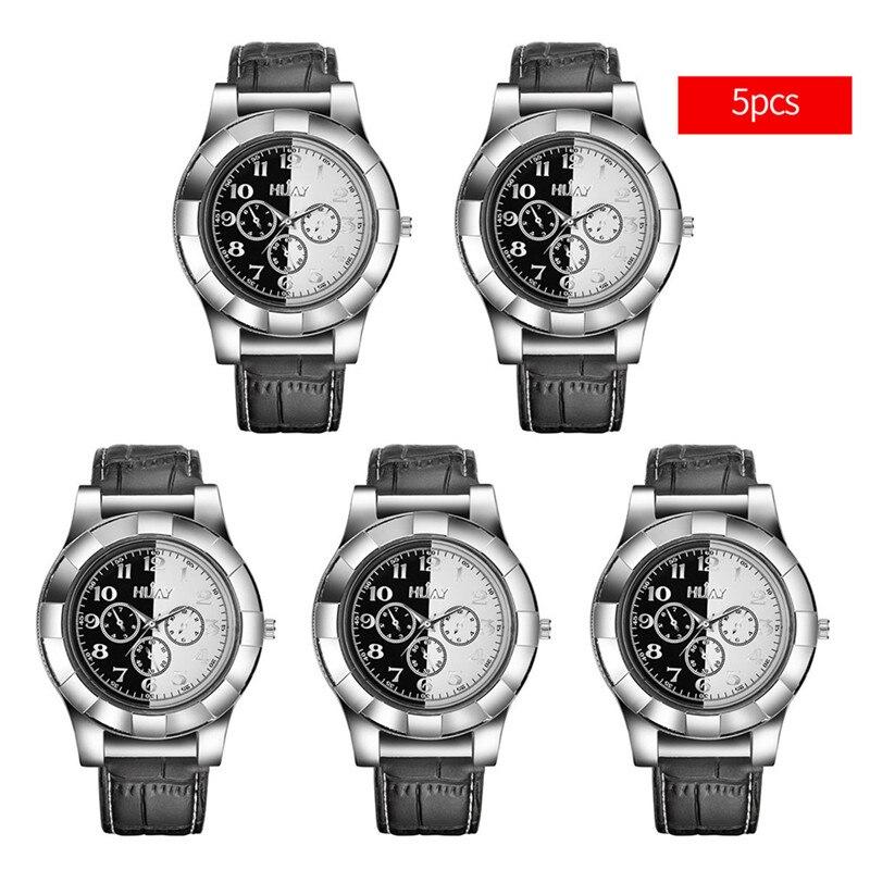 5Pcs lot Electronic USB Cigar Lighter Watch Men Sports Quartz Wristwatch Mens Cigarette Lighters Windproof Flameless