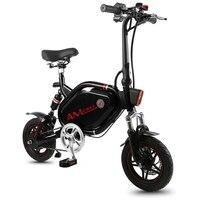 12 дюймов мини Электрический велосипед 48 V, фара для электровелосипеда в 500 Вт заднее колесо, приводной двигатель Противоугонная охранная гор