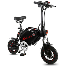 12 inch mini electric bicycle 48V Ebike 500w rear wheel drive motor Anti theft security city