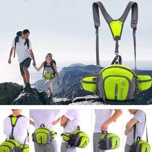 Women Mens Outdoor Sport Travel Backpack Camping Pack Waist Belt Shoulder Bag New Brand