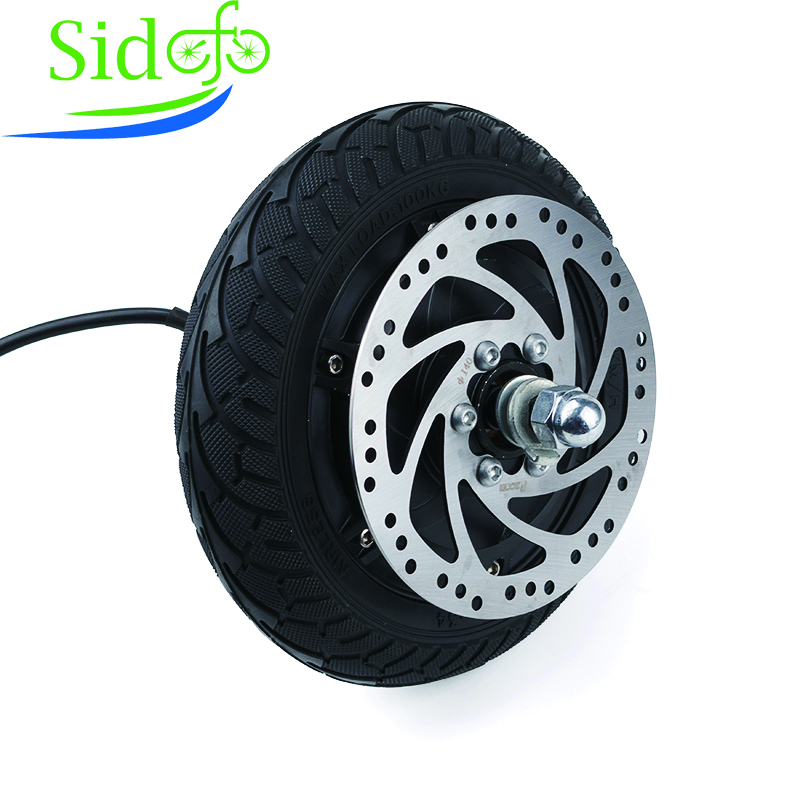 24V 36V 48V Tooth Hub Motor Electric Conversion Kit 8 inch Wheel Brushless Not inflatable AOMA eBike Scooter Engine KRHUB 1035