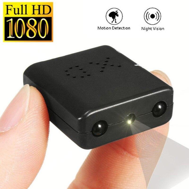 XD IR-CUT Mini Câmera Menor Câmera Filmadora Full HD 1080 P Infrared Night Vision Cam Micro câmera de Segurança de Detecção de Movimento DV