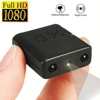 XD IR-CUT Kamera Mini Terkecil 1080 P Full HD Camcorder Infrared Malam Visi Micro Cam Deteksi Gerak DV Kamera Keamanan