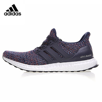 Adidas Ultra Boost 4.0 Navy Multicolor Men's Running Shoes.Original Sneakers Comfortable Shoes BB6165