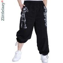 2020 Casual Nam Quần Jogger In Hình Quần Baggy Thời Trang Hip Hop Nam Quần Jogger Mở Không Dài Thấm Hút Mồ Hôi Cho Nam Pantalon Homme 5XL a10