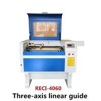 Бесплатная доставка дзг RECI W2 100 Вт co2 лазерная 4060 лазерная гравировальная машина для лазерной маркировки мини лазерный гравировальный стано