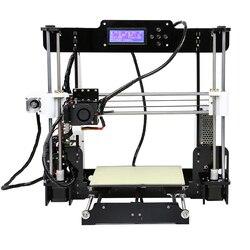 Anet A8 дешевый 3d принтер высокой точности Reprap Prusa i3 3d принтер Набор DIY с 10 м PLA нити Stampante 3d принтер