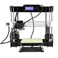 Anet A8 tanie drukarki 3d wysokiej precyzji Reprap Prusa i3 zestaw do drukarki 3D DIY z 10m PLA Filament Stampante drukarki 3D