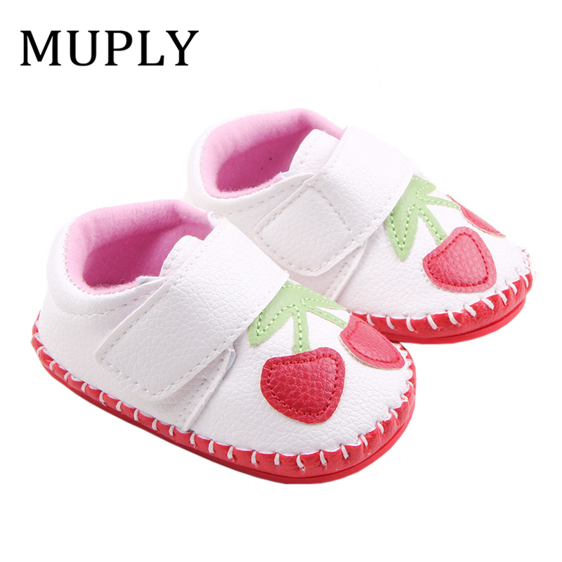 Newborn Baby Sneakers Moccasin Babies Crib Shoes Boys Girls Soft Bottom PU Leather Toddler Infant First Walkers Spring Boots