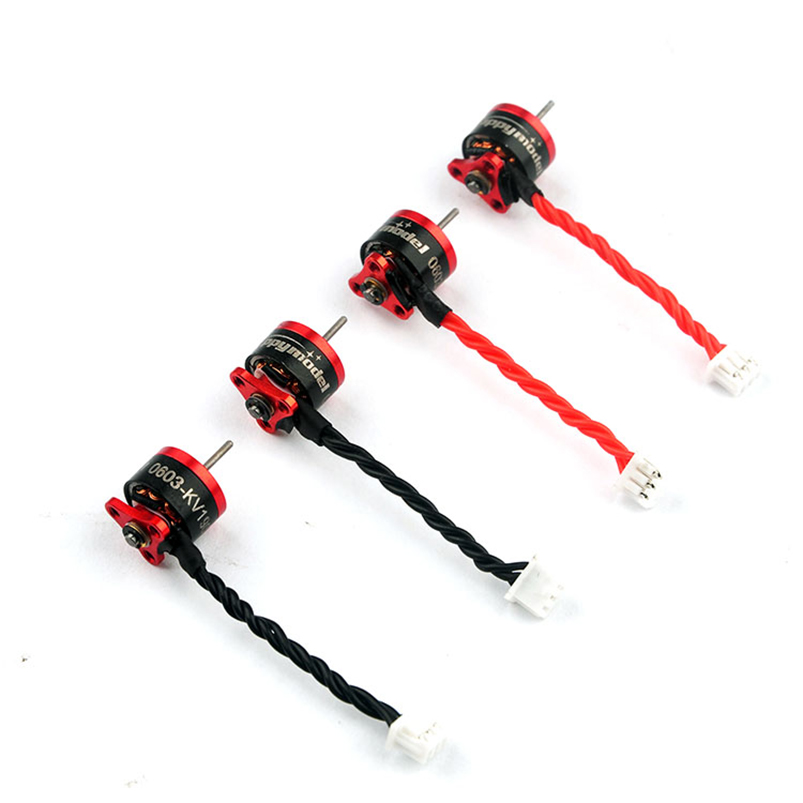 1PCS Mini SE0603 KV16000 19000KV Brushless Motor 1S 0.8mm 1mm shaft for FPV Quadcopter RC Racer Drone image