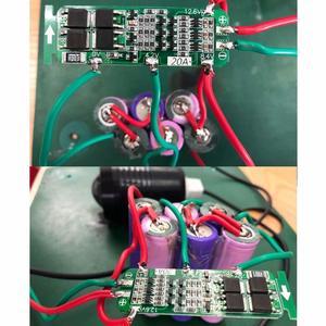 Image 5 - Защитная плата для зарядного устройства, 3S 20A 12,6 V литий ионный аккумулятор 18650 PCB BMS