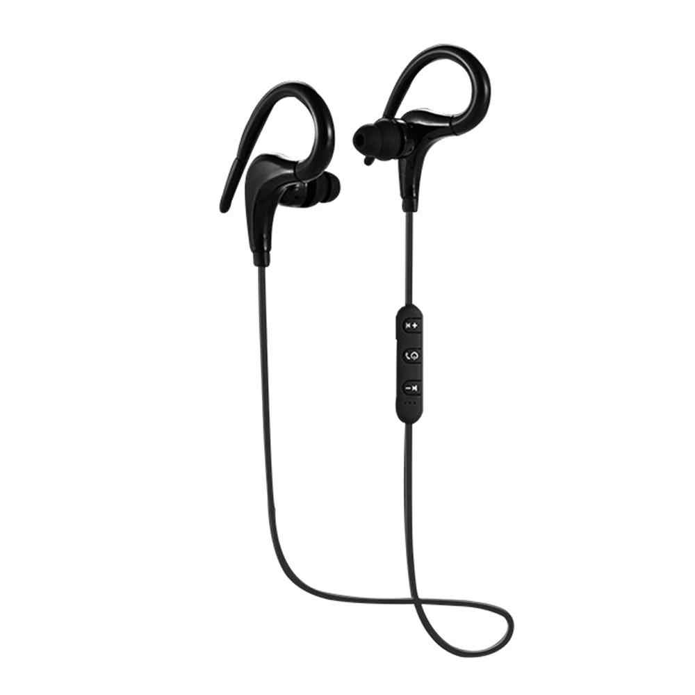 13d69ba4eea Bt-1 Bluetooth Headset Waterproof Sports Hanging Ear 4.1 Big Horn Wireless  Headphones Stereo noise