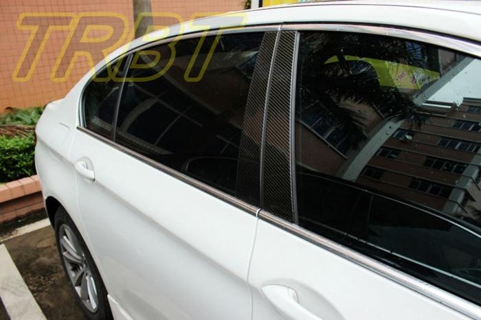 F10 Window Frame B Pillar C Pillar Molding Carbon 525i 535i Window Central Pillar B C Case For BMW 5 Series 2011 2012 2013 2014