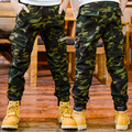 Camouflage Pants For Boys Children Clothing Cotton Letter Pockets Army Trousers Teenage Boys Sports Wear 5 7 9 11 12 13 14 Years