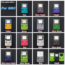 цена на ChengHaoRan For GBC New Full Housing Shell Cover for Nintendo GameBoy Color Repair Part Housing Shell Pack with Buttons Screw