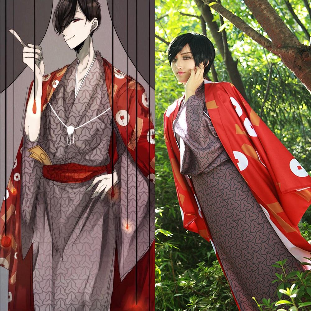 [Customize] Anime Mr. Osomatsu San Matsuno Osomatsu Kimono Dress Full set Cosplay costume New 2017 free shipping