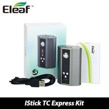 Tc 100% original eleaf istick 200 w caja mod cigarrillo electrónico de control de temple vape mod istick tc200w vw/tc modos w/o la batería