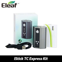 ของแท้100% Eleaf iStick TC 200วัตต์กล่องสมัยอารมณ์ควบคุมบุหรี่อิเล็กทรอนิกส์Vapeสมัยistick TC200W VW/TCโหมดW/Oแบตเตอรี่