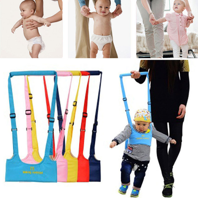 8-18 Months Baby Dual-use Walker Breathable Cotton Belted Toddler With Children's Traction Belt To Protect Children's Safety 1