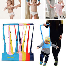 цена на 8-18 Months Baby Walker Baby Harness Assistant Toddler Leash For Kids Learning Walking Baby Belt Child Safety Harness Assistant
