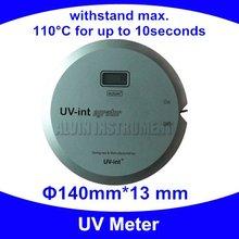 Бесплатная доставка УФ Метр УФ интегратор Радиометр УФ-детектор тестера монитор проверки UV250-410nm dameter: 140 мм; высота: 13 мм