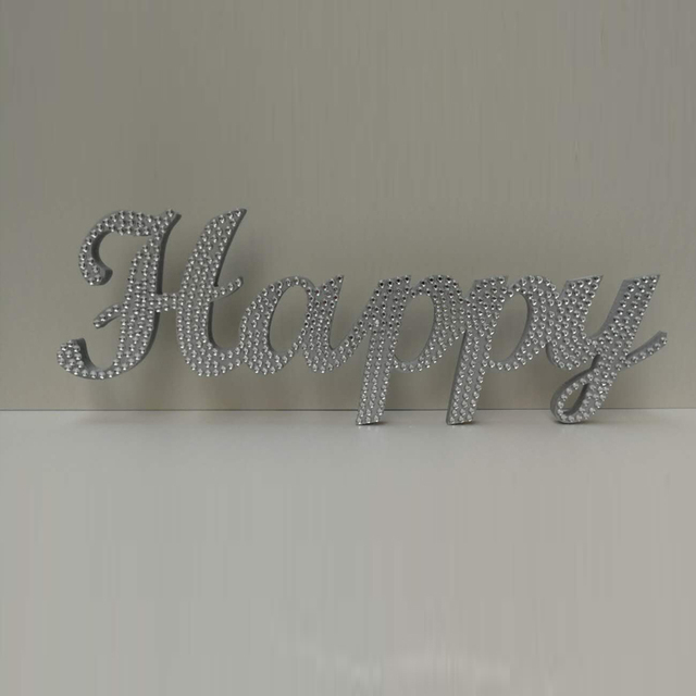 custom wedding sign crystal diamond name family sign last name free standing custom wood letters