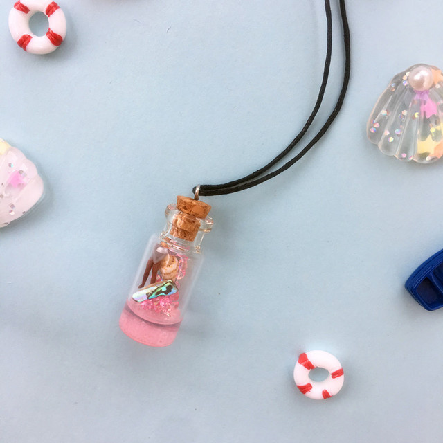 Make A Wish Bottle Pendant 1
