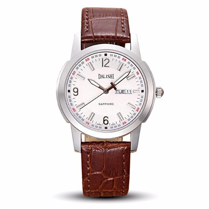 Fashion Dali brand leather leather watch luxury Classic clock watch time reloj hombre saat erkekler horloges mannen kol saati 6 247 classic leather