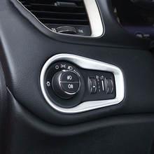 Матовый налобный фонарь из АБС пластика для jeep renegade 2015