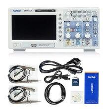Hantek DSO5072P цифровой осциллограф 2CH 70 МГц полосы пропускания 1GS/s скорость дискретизации настольная Scopemeter 40 K Длина 7,0 -дюймовый ЖК-дисплей