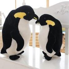 40/50 cm śliczne zabawki dla niemowląt wysokiej jakości piękne zwierzę pingwin Super miękkie PP bawełna nadziewane pingwiny lalki pluszowe dla dzieci zabawki dla dzieci prezenty