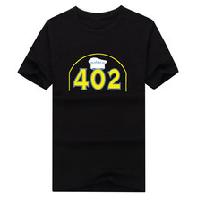 Hot Steph Curry 402 3 point record T-shirt 100% cotton short sleeve o-neck T shirt 1022-2