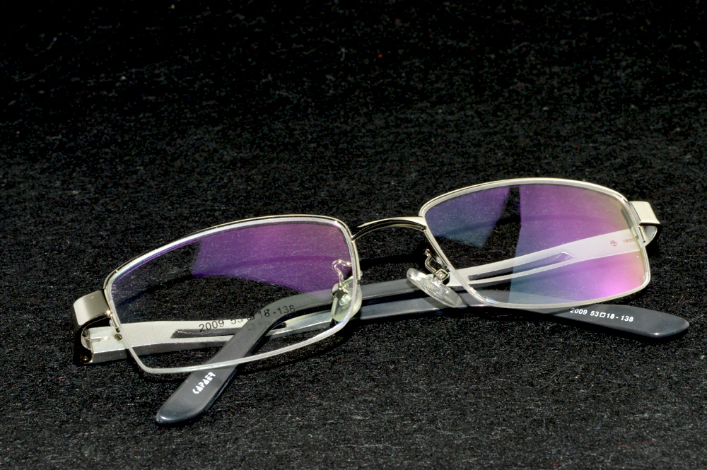 2019 Sale New Arrival Clara Vida Silver Aluminium Magnesium Prescription Reading Glasses Myopia Nearsighted Customized