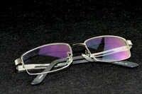 2019 venta nueva llegada Clara Vida plata aluminio magnesio gafas graduadas de lectura miopía poca visión personalizada