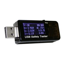 3 ~ 30 В DC Вольтметр амперметр текущий напряжение метров емкость монитор быстрое зарядное устройство Батареи Банк Питания USB, детектор тестер(China (Mainland))