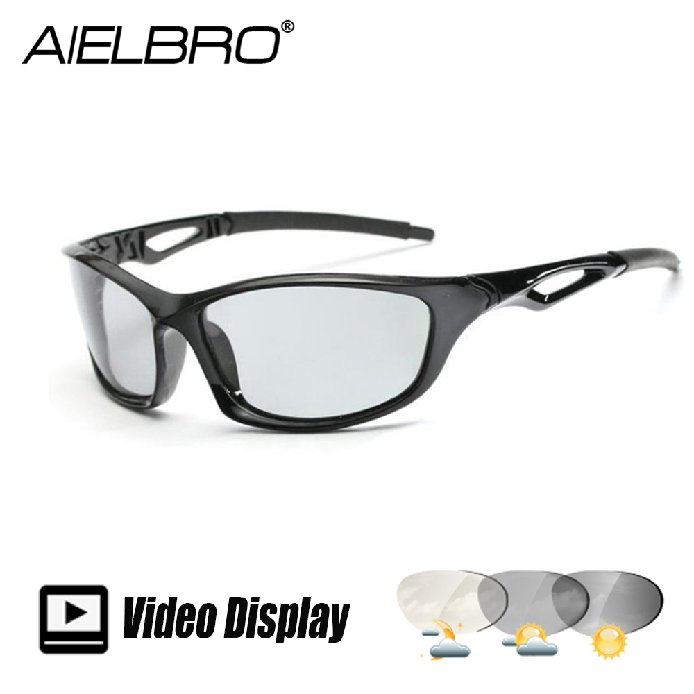 Men Polarized Square Sunglasses Polarized Hiking Cycling Glasses Photochromic Eyewear UV400 Female Male Windproof Goggle