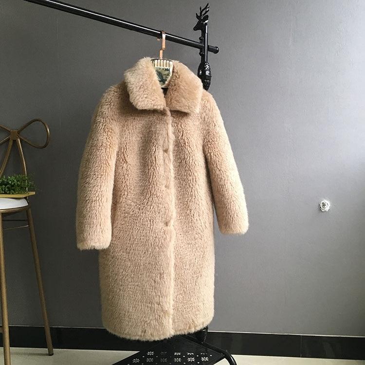 Femme Col Vestes Pardessus 1 2 Baissez Épaississement D'hiver Manteaux 3 Automne 100 Femmes Laine Movau0019 2018 Blanc WxY8qpwxT4