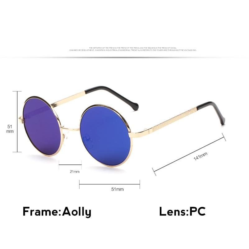bf5bbeefee 2017 hombres de lujo marca Gafas de sol mujeres 80 s 90 s vendimia Gafas  moderno gafas ray aviación Sol Gafas redondo Retro sol HD en De los hombres  gafas ...
