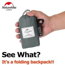 Naturehike складной рюкзак Ультра легкий packable рюкзак Пеший Туризм рюкзак, Водонепроницаемый Handy Кемпинг Открытый Рюкзак