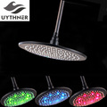 Uythner New Style Free Shipping 12 Inch Oil Rubbed Bronze Rain Shower Head Wall Mounted Top