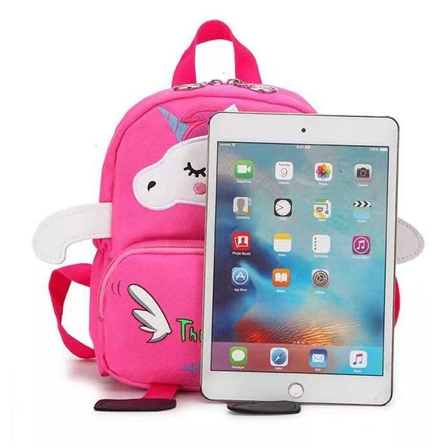 Anti-thieft Unicorn Toddler Backpack
